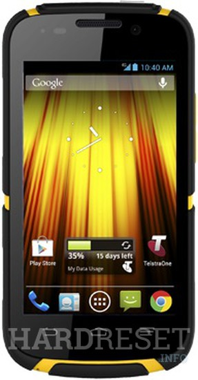 ZTE Telstra Dave T83 Specification - HardReset info