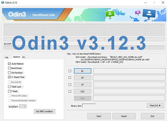 ODIN3 V3.12.3.EXE TÉLÉCHARGER