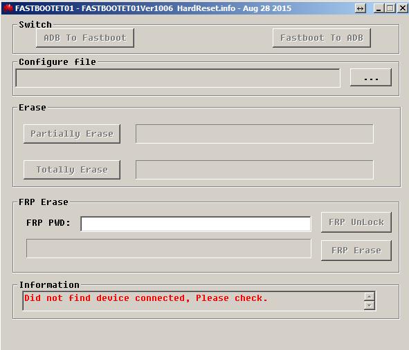 Download Huawei FRP Eraser HardReset info