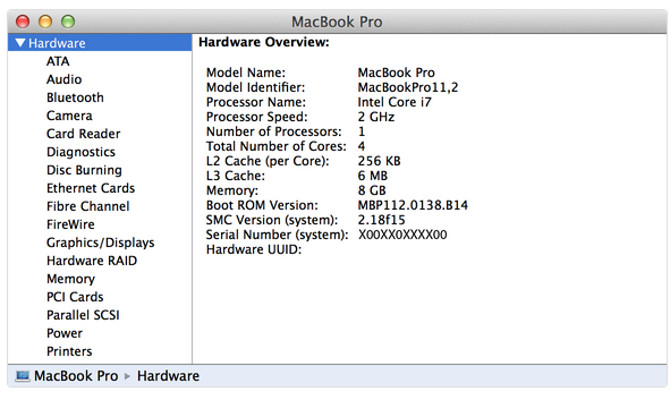 How To Find Your Apple Serial Number And IMEI HardResetinfo - Apple numbers invoice system