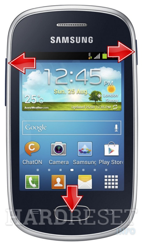 Permanently delete data from SAMSUNG S5280 Galaxy Star