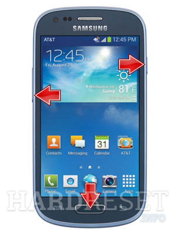 Remove Screen Lock on SAMSUNG G730A Galaxy S III mini (AT&T)
