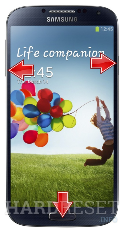 Master Reset SAMSUNG I9500 Galaxy S4