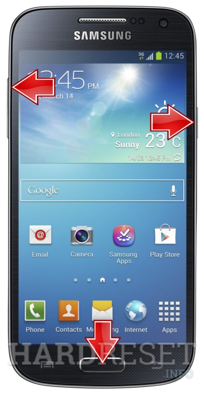 Hard Reset SAMSUNG I9195 Galaxy S4 mini