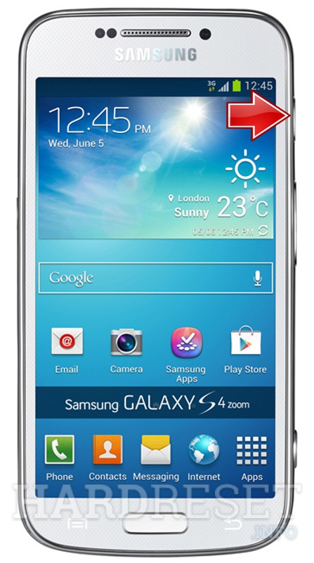 Factory Reset SAMSUNG Galaxy S4 Zoom