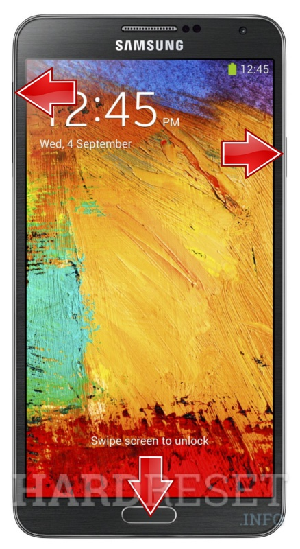 Hard Reset SAMSUNG N9005 Galaxy Note 3
