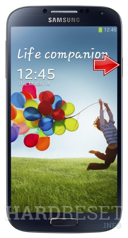 Remove screen password SAMSUNG I9500 Galaxy S4