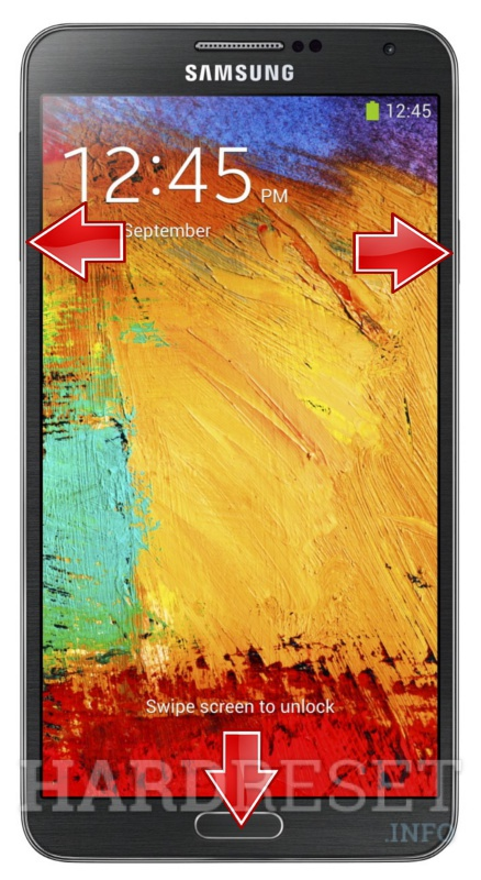 HardReset SAMSUNG N900A Galaxy Note 3 LTE (AT&T)