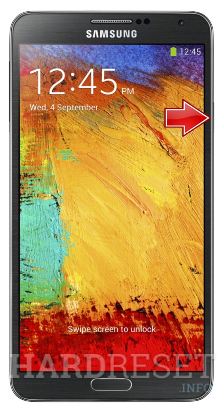 Factory Reset SAMSUNG N900A Galaxy Note 3 LTE (AT&T)