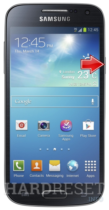 Factory Reset SAMSUNG I9190 Galaxy S4 mini