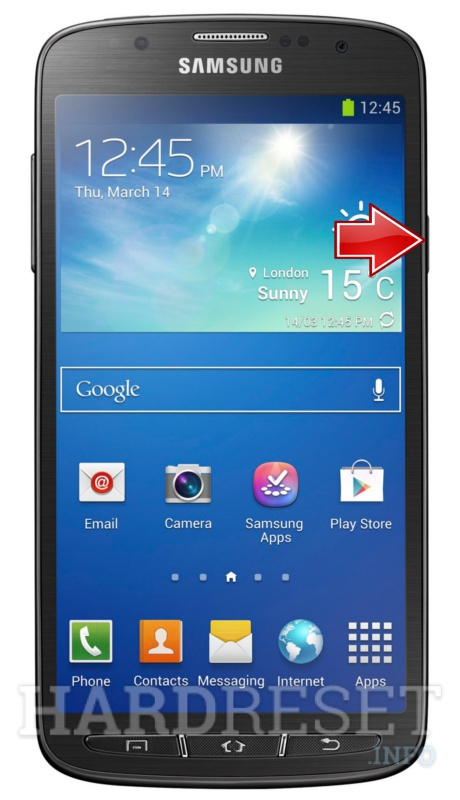 Factory Reset SAMSUNG I9295 Galaxy S4 Active