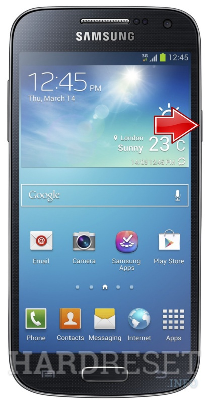 Factory Reset SAMSUNG I9195 Galaxy S4 mini