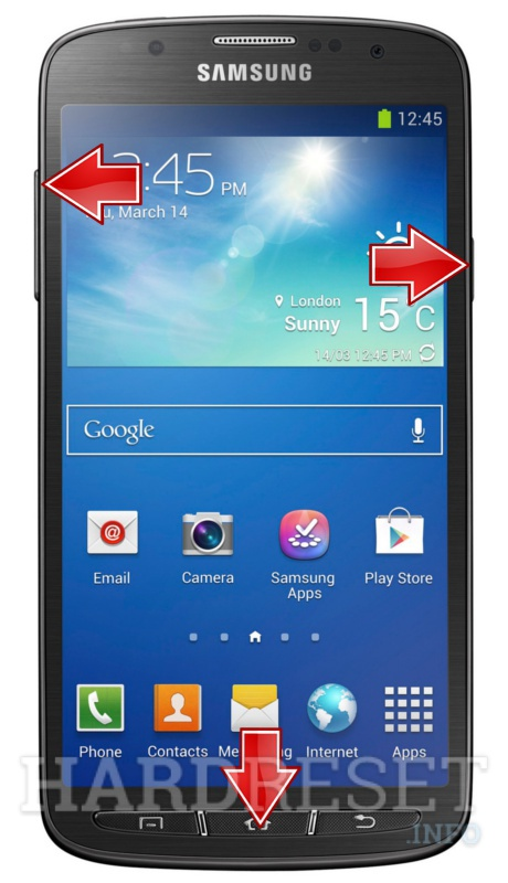 Hard Reset SAMSUNG I9295 Galaxy S4 Active