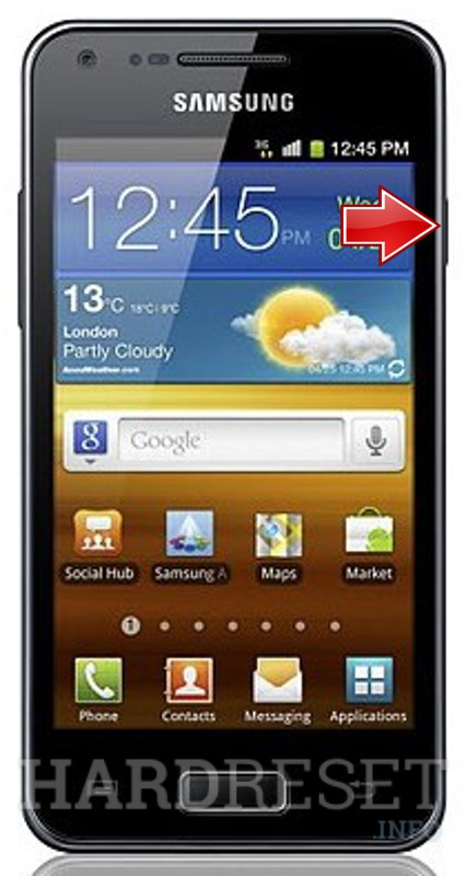 Factory Reset SAMSUNG I9070P Galaxy S Advance