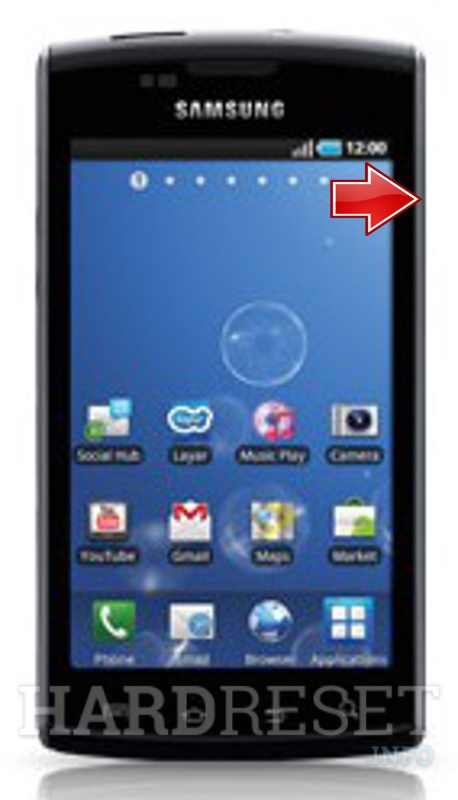Factory Reset SAMSUNG I896 Galaxy S Captivate