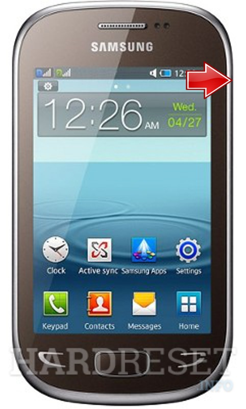 Factory Reset SAMSUNG S5292 Star Deluxe Duos