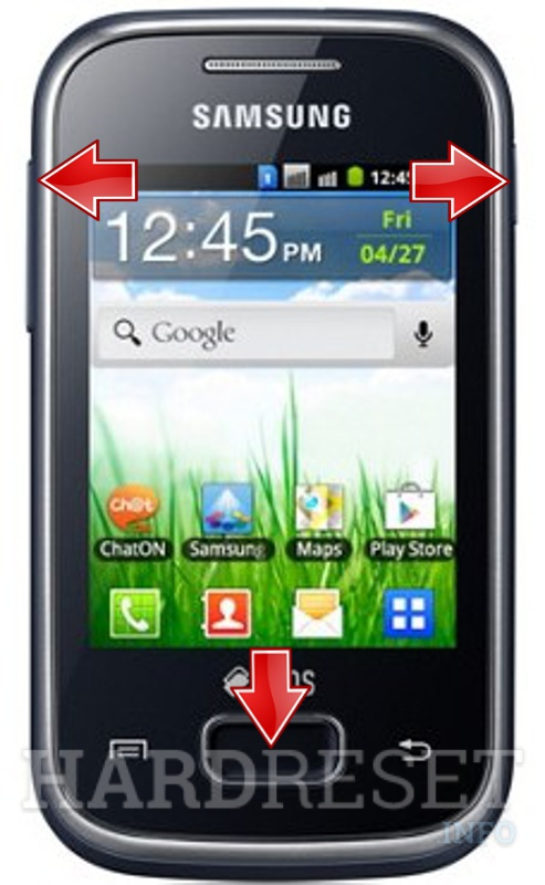 Hard Reset SAMSUNG S5302 Galaxy Pocket Duos