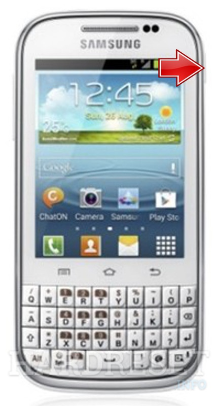 Factory Reset SAMSUNG B5330 Galaxy Chat