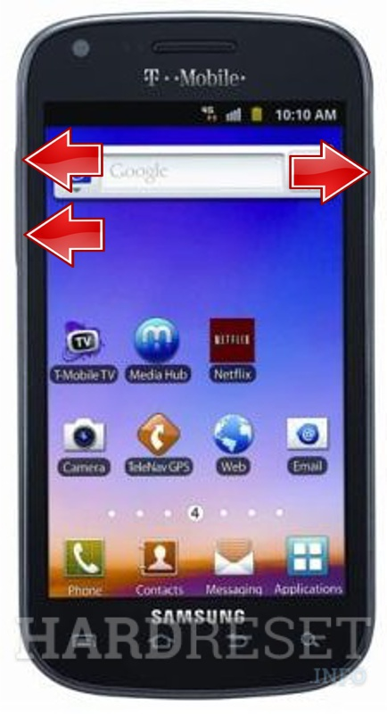 Remove Screen Lock on SAMSUNG T769 Galaxy S Blaze 4G