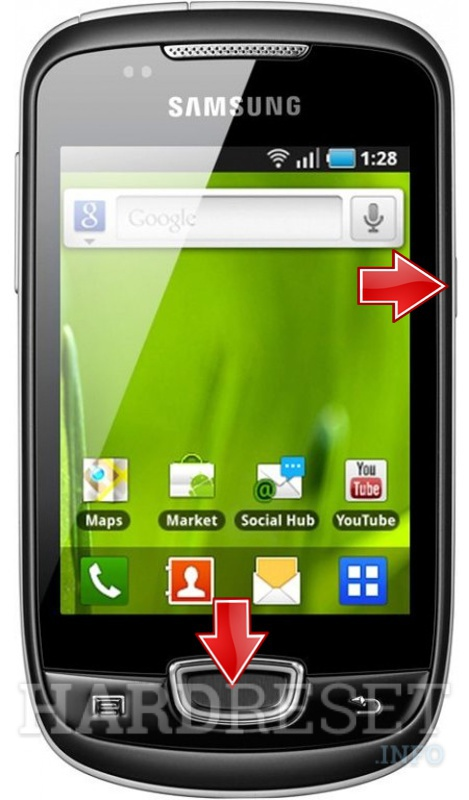 Hard Reset SAMSUNG S5570i Galaxy Pop Plus