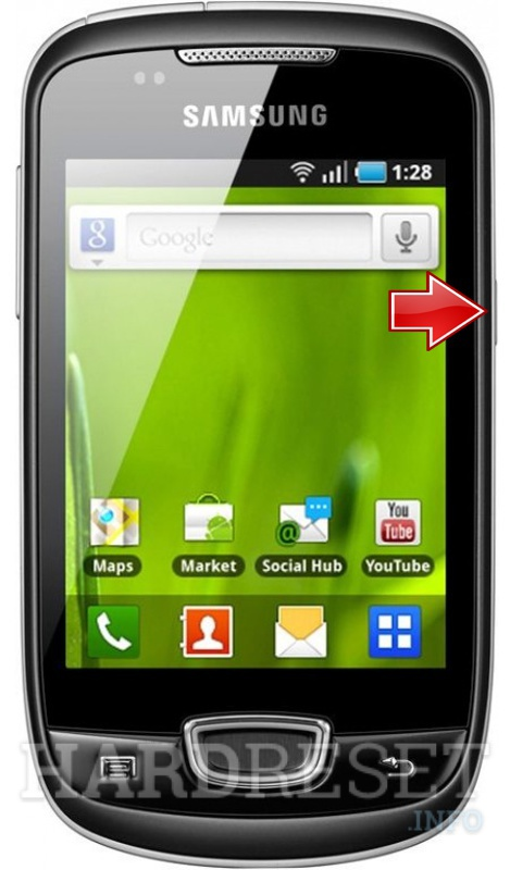 Factory Reset SAMSUNG S5570i Galaxy Pop Plus