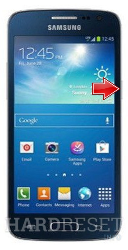 Factory Reset SAMSUNG G3815 Galaxy Express 2