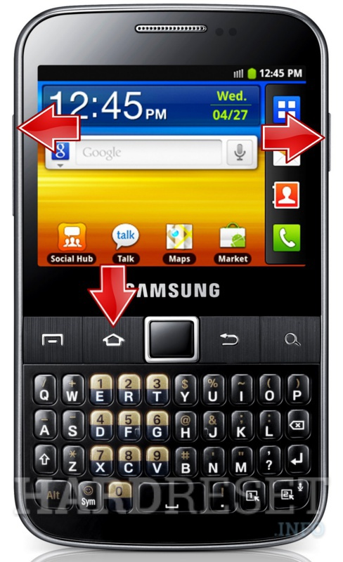 how to hard reset my phone samsung b5510 galaxy y pro hardreset info rh hardreset info