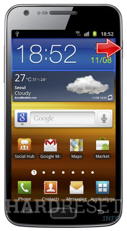 Factory Reset SAMSUNG i9210 GALAXY S II LTE