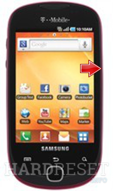 Factory Reset SAMSUNG T589 Gravity Smart
