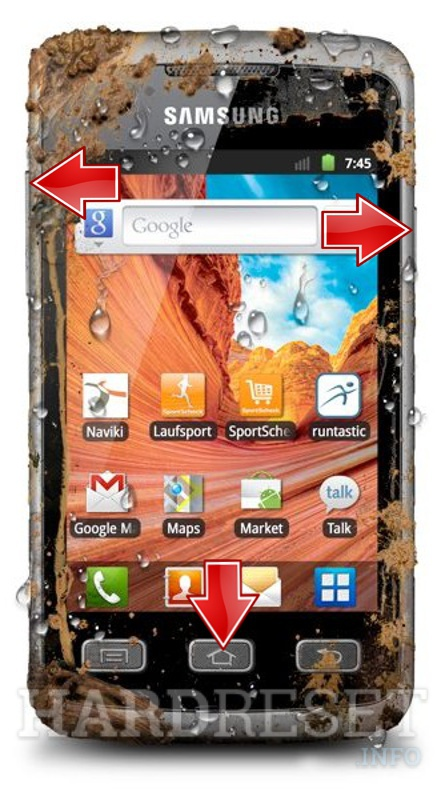 Hard Reset SAMSUNG S5690 Galaxy Xcover