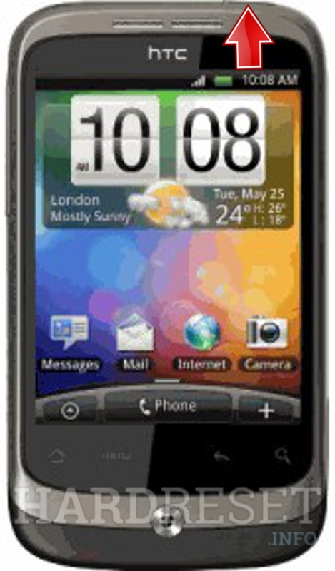 Remove Screen Lock on HTC Wildfire