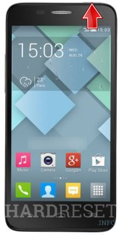 Format ALCATEL 6012 One Touch Idol Mini