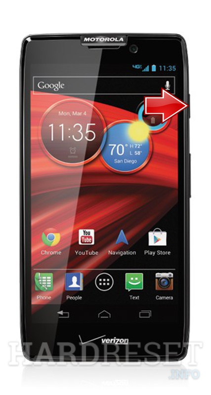 how to hard reset my phone motorola xt912 droid razr maxx rh hardreset info Motorola Droid Droid Maxx