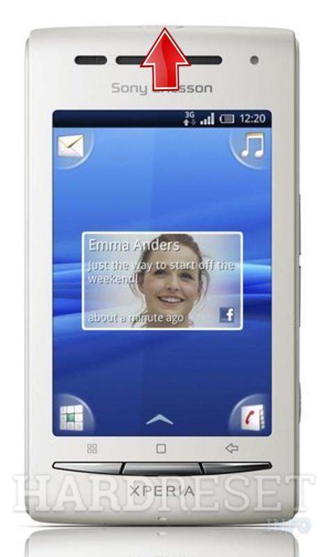 Sony ericsson g705 hard reset