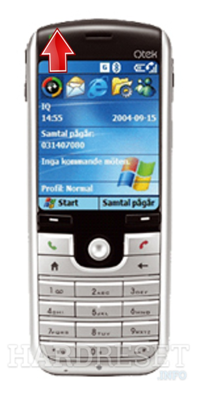 Hard Reset QTEK 8020 (HTC Feeler)