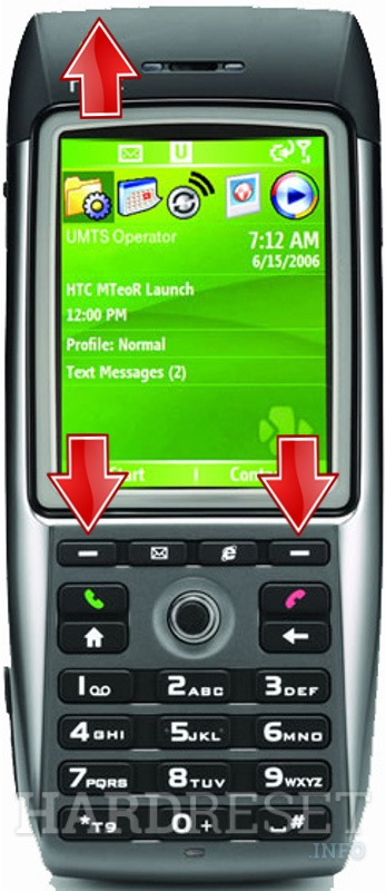 Factory Reset HTC MTeoR (HTC Breeze)