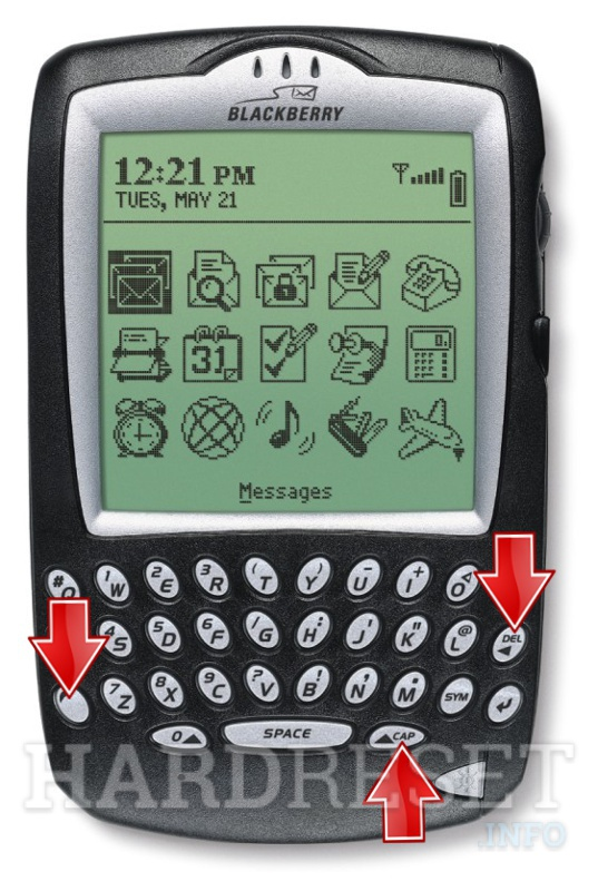 Hard Reset BLACKBERRY 6710