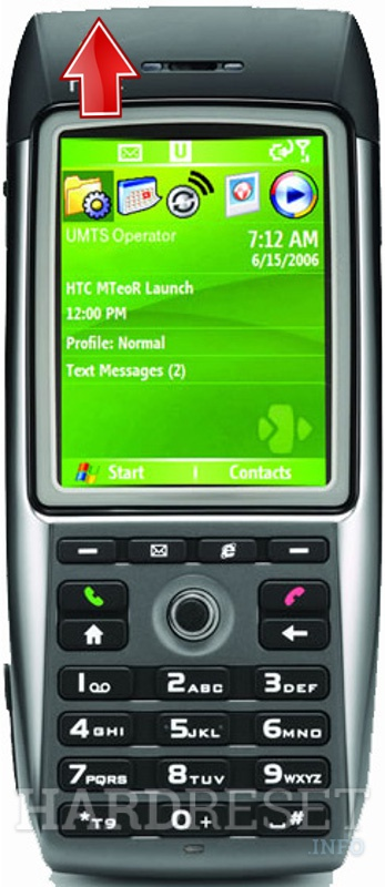 Hard Reset HTC MTeoR (HTC Breeze)