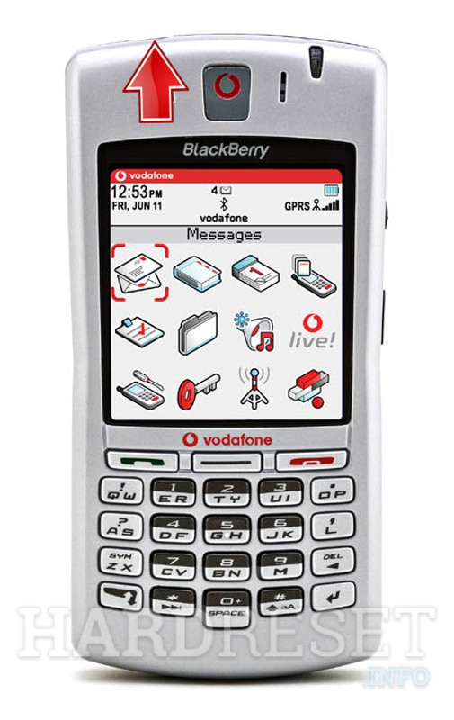 Hard Reset BLACKBERRY 7100v