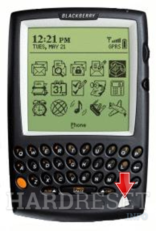 Hard Reset BLACKBERRY 5810