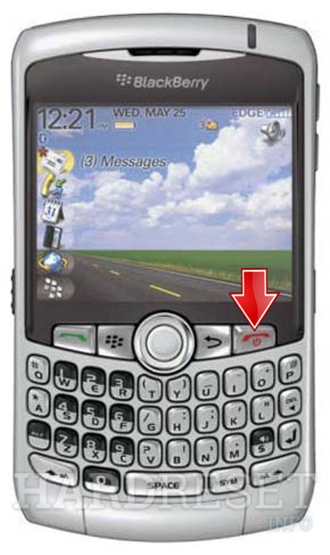 Hard Reset BLACKBERRY 8300 Curve