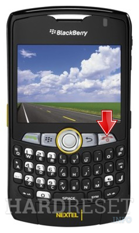 Hard Reset BLACKBERRY 8350i