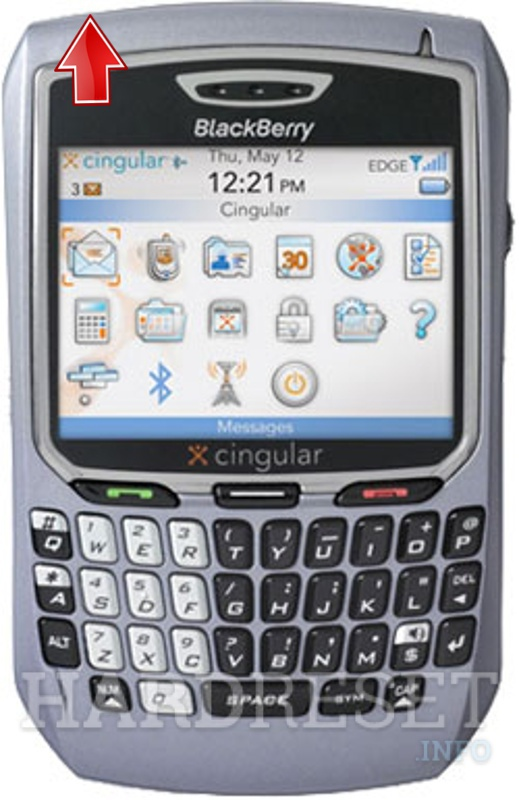 Hard Reset BLACKBERRY 8700c