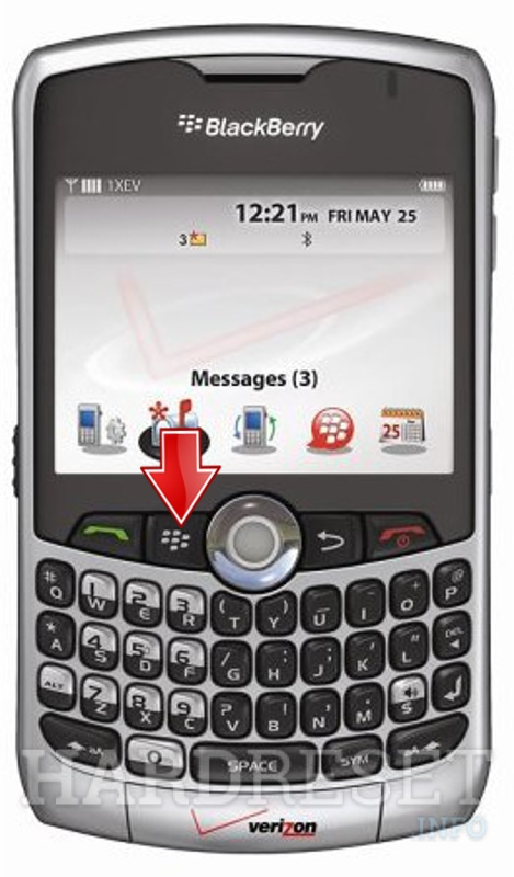 HardReset BLACKBERRY 8330 Curve