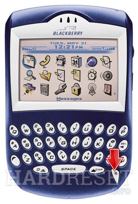 Hard Reset BLACKBERRY 7210