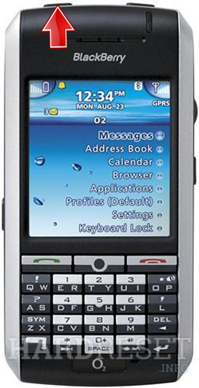 Hard Reset BLACKBERRY 7130g