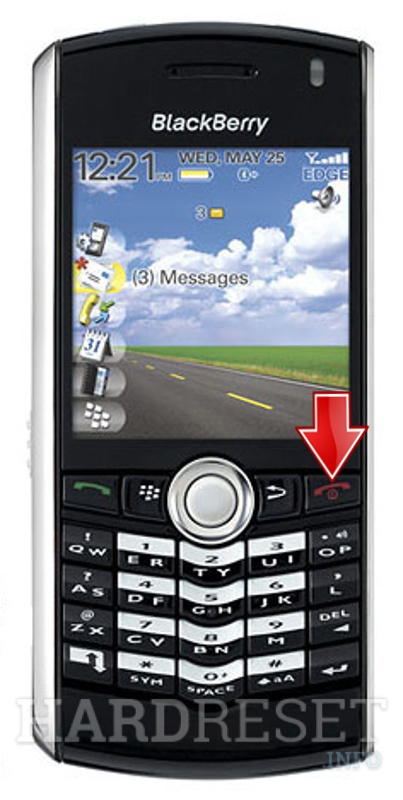 Remove Screen Lock on BLACKBERRY 8100 Pearl