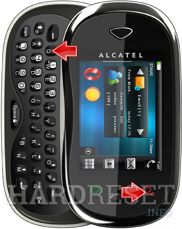 HardReset ALCATEL One Touch XTRA