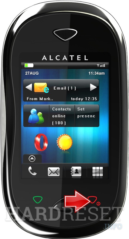 Hard Reset ALCATEL One Touch XTRA