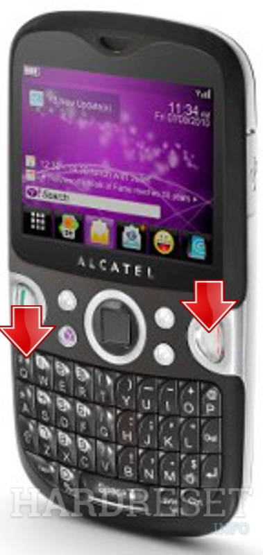 HardReset ALCATEL One Touch Net